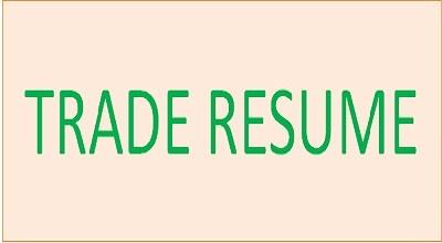 Trade-Resume