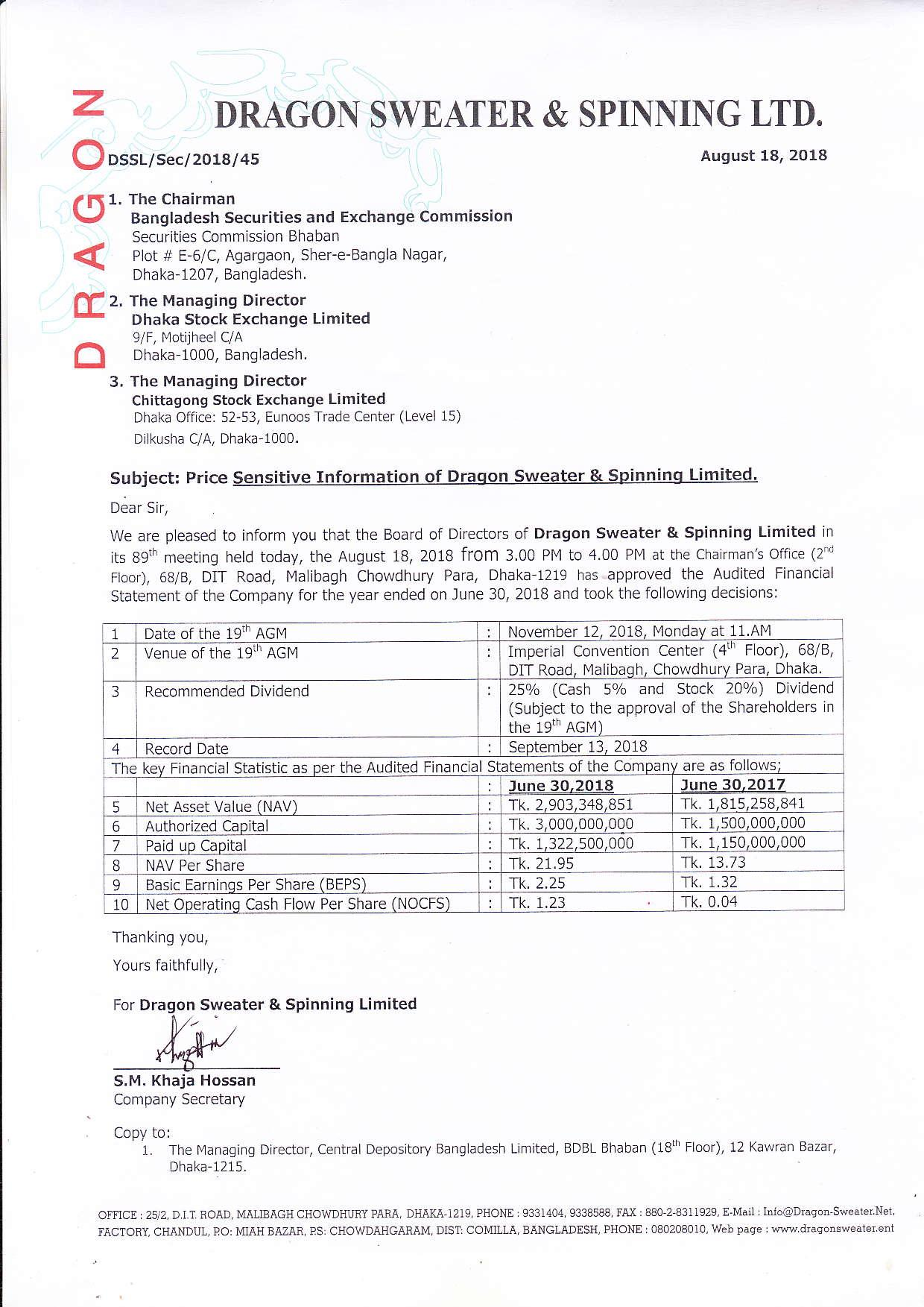 Price Sensitive Information of Dragon Sweater & Spinning Ltd (1)-page-001